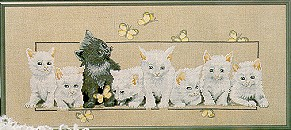Butterfly Kittens Chart Pack